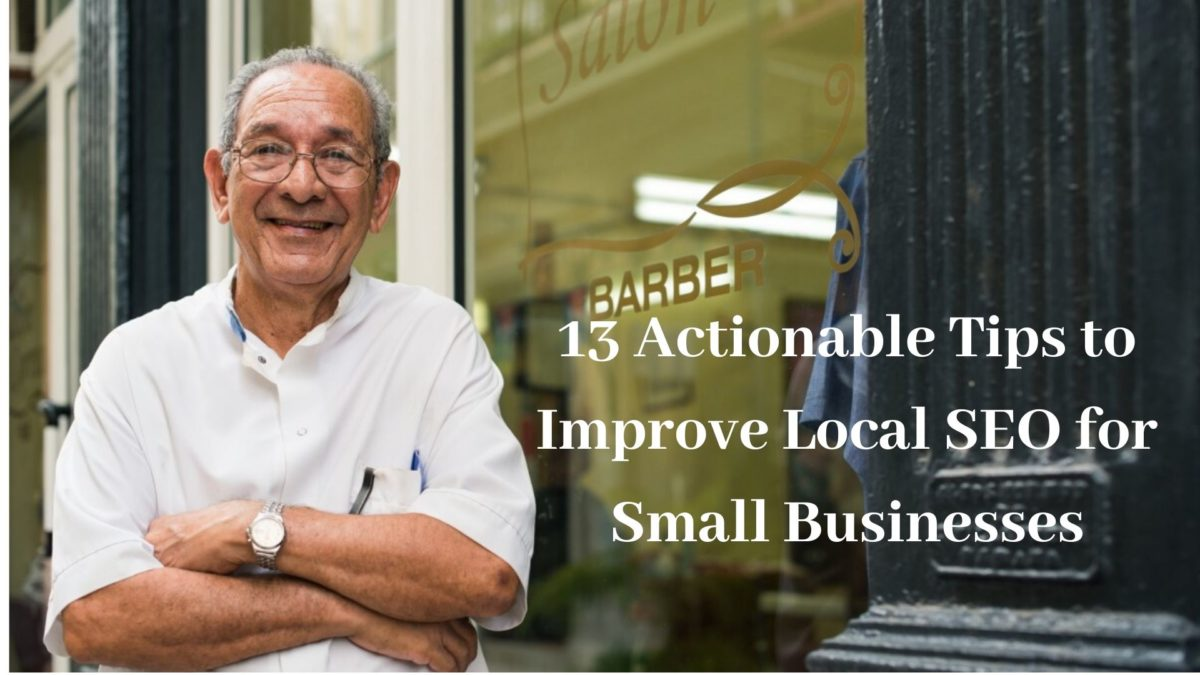 Local SEo for small businesses that want to rank higher